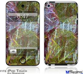 iPod Touch 4G Decal Style Vinyl Skin - On Thin Ice