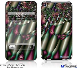 iPod Touch 4G Decal Style Vinyl Skin - Pipe Organ