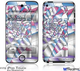 iPod Touch 4G Decal Style Vinyl Skin - Paper Cut