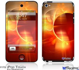 iPod Touch 4G Decal Style Vinyl Skin - Planetary