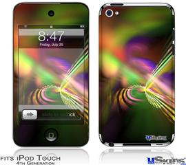 iPod Touch 4G Decal Style Vinyl Skin - Prismatic