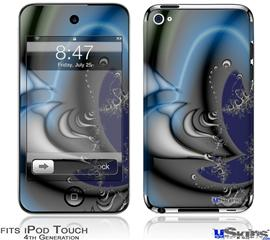 iPod Touch 4G Decal Style Vinyl Skin - Plastic