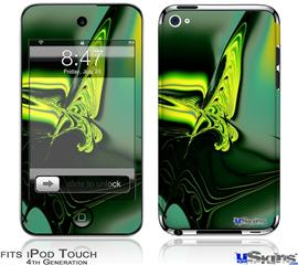 iPod Touch 4G Decal Style Vinyl Skin - Release
