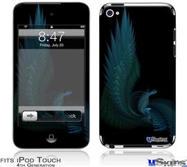 iPod Touch 4G Decal Style Vinyl Skin - Sea Dragon