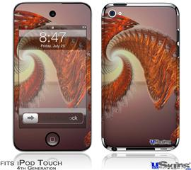 iPod Touch 4G Decal Style Vinyl Skin - Solar Power