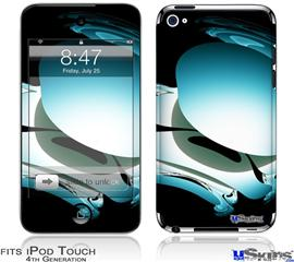 iPod Touch 4G Decal Style Vinyl Skin - Silently-2