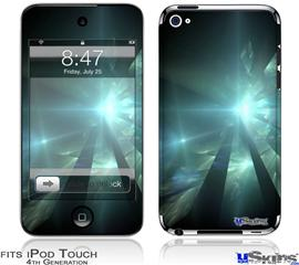 iPod Touch 4G Decal Style Vinyl Skin - Shards
