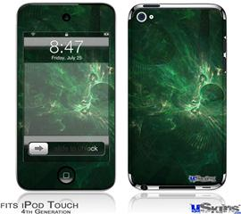 iPod Touch 4G Decal Style Vinyl Skin - Theta Space
