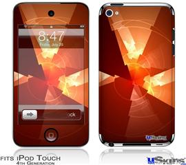 iPod Touch 4G Decal Style Vinyl Skin - Trifold