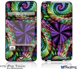 iPod Touch 4G Decal Style Vinyl Skin - Twist