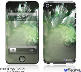 iPod Touch 4G Decal Style Vinyl Skin - Wave