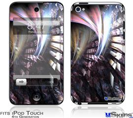 iPod Touch 4G Decal Style Vinyl Skin - Wide Open