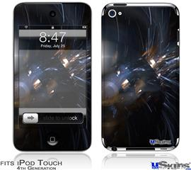 iPod Touch 4G Decal Style Vinyl Skin - Cyborg