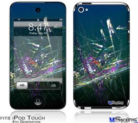 iPod Touch 4G Decal Style Vinyl Skin - Oceanic