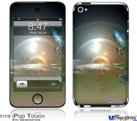iPod Touch 4G Decal Style Vinyl Skin - Portal
