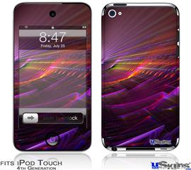 iPod Touch 4G Decal Style Vinyl Skin - Swish