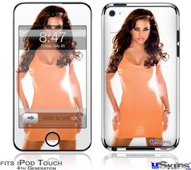 iPod Touch 4G Decal Style Vinyl Skin - Whitney Jene 0838