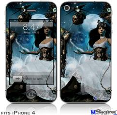 iPhone 4 Decal Style Vinyl Skin - Heptameron (DOES NOT fit newer iPhone 4S)