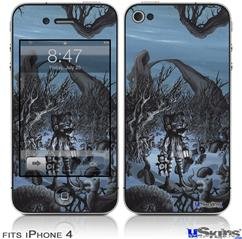 iPhone 4 Decal Style Vinyl Skin - Hope (DOES NOT fit newer iPhone 4S)
