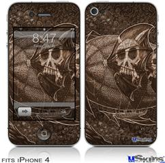 iPhone 4 Decal Style Vinyl Skin - The Temple (DOES NOT fit newer iPhone 4S)