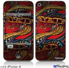 iPhone 4 Decal Style Vinyl Skin - Y&T Mean Streak Covers (DOES NOT fit newer iPhone 4S)