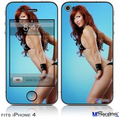 iPhone 4 Decal Style Vinyl Skin - Amanda Olson 07 (DOES NOT fit newer iPhone 4S)