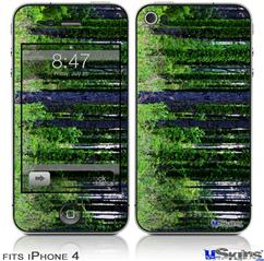 iPhone 4 Decal Style Vinyl Skin - South GA Forrest (DOES NOT fit newer iPhone 4S)
