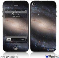 iPhone 4 Decal Style Vinyl Skin - Hubble Images - Barred Spiral Galaxy NGC 1300 (DOES NOT fit newer iPhone 4S)