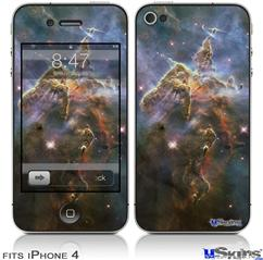 iPhone 4 Decal Style Vinyl Skin - Hubble Images - Mystic Mountain Nebulae (DOES NOT fit newer iPhone 4S)
