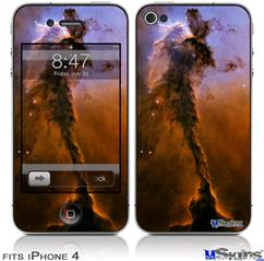 iPhone 4 Decal Style Vinyl Skin - Hubble Images - Stellar Spire in the Eagle Nebula (DOES NOT fit newer iPhone 4S)