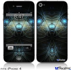 iPhone 4 Decal Style Vinyl Skin - Titan (DOES NOT fit newer iPhone 4S)
