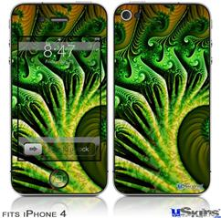 iPhone 4 Decal Style Vinyl Skin - Broccoli (DOES NOT fit newer iPhone 4S)