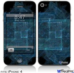 iPhone 4 Decal Style Vinyl Skin - Brittle (DOES NOT fit newer iPhone 4S)