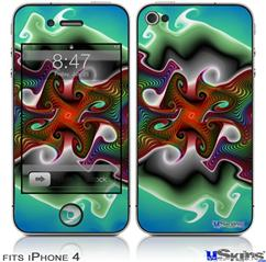 iPhone 4 Decal Style Vinyl Skin - Butterfly (DOES NOT fit newer iPhone 4S)