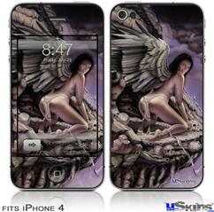 iPhone 4 Decal Style Vinyl Skin - Banished (DOES NOT fit newer iPhone 4S)