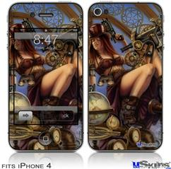 iPhone 4 Decal Style Vinyl Skin - Navigator (DOES NOT fit newer iPhone 4S)