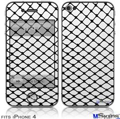 iPhone 4 Decal Style Vinyl Skin - Fishnets (DOES NOT fit newer iPhone 4S)