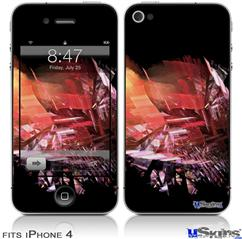 iPhone 4 Decal Style Vinyl Skin - Complexity (DOES NOT fit newer iPhone 4S)