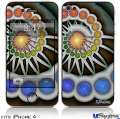 iPhone 4 Decal Style Vinyl Skin - Copernicus (DOES NOT fit newer iPhone 4S)