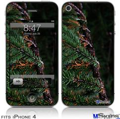 iPhone 4 Decal Style Vinyl Skin - Woodland (DOES NOT fit newer iPhone 4S)