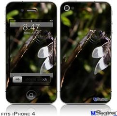 iPhone 4 Decal Style Vinyl Skin - Dragonfly (DOES NOT fit newer iPhone 4S)