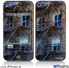 iPhone 4 Decal Style Vinyl Skin - Stairs (DOES NOT fit newer iPhone 4S)
