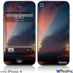 iPhone 4 Decal Style Vinyl Skin - Sunset (DOES NOT fit newer iPhone 4S)