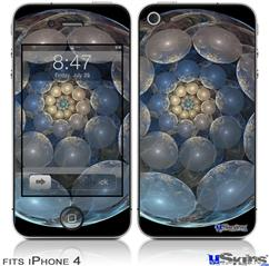 iPhone 4 Decal Style Vinyl Skin - Dragon Egg (DOES NOT fit newer iPhone 4S)