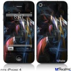 iPhone 4 Decal Style Vinyl Skin - Darkness Stirs (DOES NOT fit newer iPhone 4S)