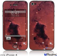 iPhone 4 Decal Style Vinyl Skin - Hubble Images - Bok Globules In Star Forming Region Ngc 281 (DOES NOT fit newer iPhone 4S)