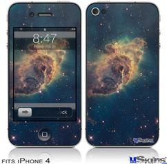 iPhone 4 Decal Style Vinyl Skin - Hubble Images - Carina Nebula Pillar (DOES NOT fit newer iPhone 4S)