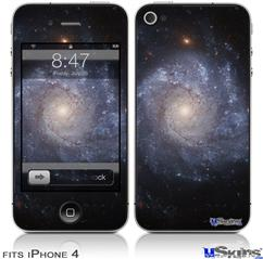 iPhone 4 Decal Style Vinyl Skin - Hubble Images - Spiral Galaxy Ngc 1309 (DOES NOT fit newer iPhone 4S)
