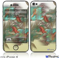 iPhone 4 Decal Style Vinyl Skin - Diver (DOES NOT fit newer iPhone 4S)