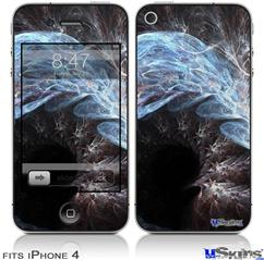 iPhone 4 Decal Style Vinyl Skin - Dusty (DOES NOT fit newer iPhone 4S)
